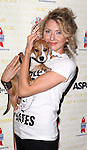 Nina Arianda (Venus in Fur) .backstage at Broadway Barks 14 at the Booth Theatre on July 14, 2012 in New York City. Marking its 14th anniversary, Broadway Barks!, founded by Bernadette Peters and Mary Tyler Moore helps many of New York City's shelter animals find permanent homes and also inform New Yorkers about the plight of the thousands of homeless dogs and cats in the metropolitan area.