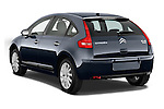Rear three quarter view of a 2010 Citroen C4 Millenium 5 Door Hatchback 2WD