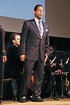 Lawrence Craig sings baritone at the John Jay Justice Award ceremony, April 5 2011.