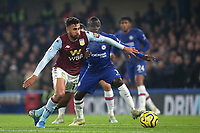 Trezeguet of Aston Villa in action during Chelsea vs Aston Villa, Premier League Football at Stamford Bridge on 4th December 2019