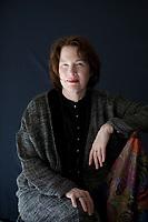 Alice Sebold is an American writer. She has published three books: Lucky, The Lovely Bones, and The Almost Moon. Salone del Libro 2018 Torino.© Leonardo Cendamo