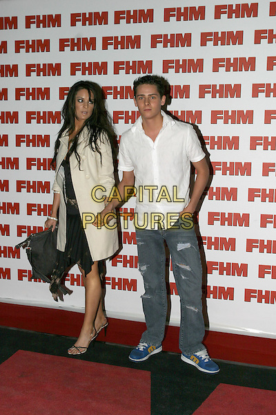 CHRIS PARKER.FHM 100 Sexiest Women Party 2004, Guildhall,.London,.3rd June 2004.full length full-length girlfriend.www.capitalpictures.com.sales@capitalpictures.com.©Capital Pictures