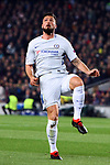 UEFA Champions League 2017/2018.<br /> Round of 16 2nd leg.<br /> FC Barcelona vs Chelsea FC: 3-0.<br /> Olivier Giroud.