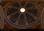 Cupola over Chapel of Mary Aid of Christians Right Nave San Carlo al Corso Rome