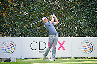 Matt Fitzpatrick (ENG) watches his tee shot 5 during round 3 of the World Golf Championships, Mexico, Club De Golf Chapultepec, Mexico City, Mexico. 3/4/2017.<br /> Picture: Golffile | Ken Murray<br /> <br /> <br /> All photo usage must carry mandatory copyright credit (&copy; Golffile | Ken Murray)