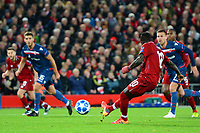 Liverpool's Sadio Mane misses a penalty kick<br /> <br /> Photographer Richard Martin-Roberts/CameraSport<br /> <br /> UEFA Champions League Group C - Liverpool v Crvena Zvezda - Wednesday 24th October 2018 - Anfield - Liverpool<br />  <br /> World Copyright © 2018 CameraSport. All rights reserved. 43 Linden Ave. Countesthorpe. Leicester. England. LE8 5PG - Tel: +44 (0) 116 277 4147 - admin@camerasport.com - www.camerasport.com