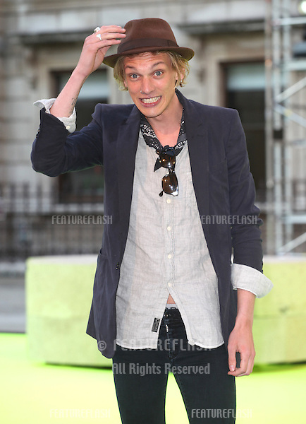 Jamie Campbell Bower arriving for the Royal Academy Of Arts Summer Exhibition Party, RAA, London. 05/06/2013 Picture by: Alexandra Glen / Featureflash