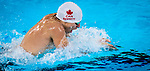 Lima, Peru -  30/August/2019 -   Nicholas Bennett competes in the men's 200m IM S14 at the Parapan Am Games in Lima, Peru. Photo: Dave Holland/Canadian Paralympic Committee.