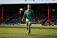 8th February 2020; Griffin Park, London, England; English Championship Football, Brentford FC versus Middlesbrough; Goalkeeper Aynsley Pears of Middlesbrough
