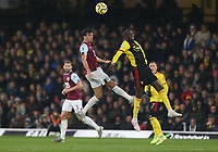 Burnley's Jack Cork and Watford's Abdoulaye Doucoure<br /> <br /> Photographer Rob Newell/CameraSport<br /> <br /> The Premier League - Watford v Burnley - Saturday 23rd November 2019 - Vicarage Road - Watford <br /> <br /> World Copyright © 2019 CameraSport. All rights reserved. 43 Linden Ave. Countesthorpe. Leicester. England. LE8 5PG - Tel: +44 (0) 116 277 4147 - admin@camerasport.com - www.camerasport.com