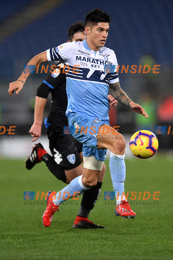 Joaquin Correa of Lazio in action during the Serie A 2018/2019 football match between Lazio and Empoli at stadio Olimpico, Roma, February 7, 2019 <br />  Foto Andrea Staccioli / Insidefoto