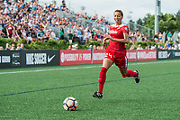 Boston, MA - Saturday July 01, 2017: Estelle Johnson during a regular season National Women's Soccer League (NWSL) match between the Boston Breakers and the Washington Spirit at Jordan Field.