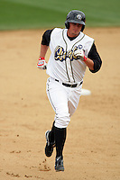 April 11, 2010: Dillon Baird of the Rancho Cucamonga Quakes during game against the Inland Empire 66'ers at The Epicenter in Rancho Cucamonga,CA.  Photo by Larry Goren/Four Seam Images