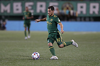 Portland, Oregon - Friday, August 18, 2017: Portland Timbers vs New York Red Bulls FC in a match at Providence Park. Portland Timbers 2, New York Red Bulls 0