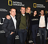 T R Knight, Antonio Banderas, Poppy Delevingne,  Samantha Colley,Alex Rich attend the National Geographic's &quot;Genius: Picasso&quot; at the unveiling of Genius: Studio Art Lab in New York City, New York, USA on April 19, 2018. <br /> <br /> photo by Robin Platzer/Twin Images<br />  <br /> phone number 212-935-0770