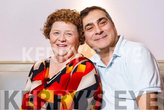 Kay and Namir Karim in Ballybunion