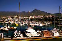 Puerto Colon harbour,Tenerife, Canary Islands, Spain
