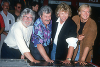 Moody Blues <br /> Graeme Edge Ray Thomas John Lodge Justin Hayward<br /> 1992<br /> Photo By Michael Ferguson/CelebrityArchaeology.com