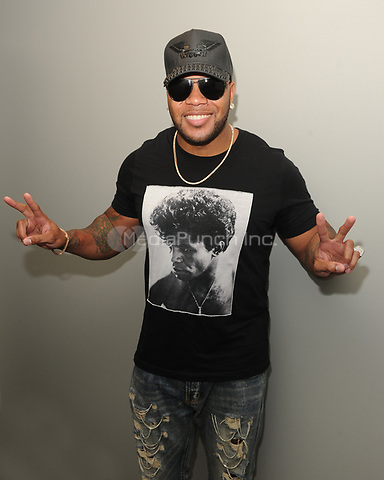 FORT LAUDERDALE, FL - APRIL 19: Flo Rida visits iHeart Radio Station Y100 on April 19, 2017 in Fort Lauderdale, Florida. Credit: mpi04/MediaPunch