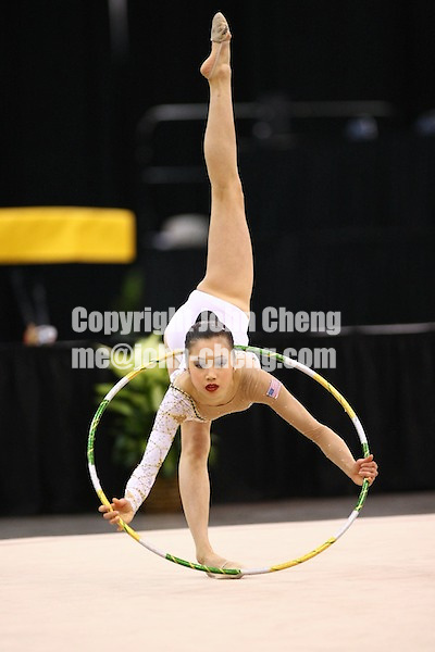 Photo by John Cheng - Pacific Rim Championships in San Jose, Ca.RhythmicsLisa Wang