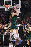 MILWAUKEE, WI - MARCH 16: Vermont Catamounts guard Kurt Steidl (34) pulls down a rebound during the first half of the 2017 NCAA Men's Basketball Tournament held at BMO Harris Bradley Center on March 16, 2017 in Milwaukee, Wisconsin. (Photo by Jamie Schwaberow/NCAA Photos via Getty Images)