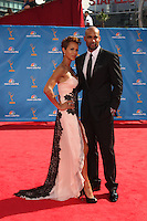 LOS ANGELES - AUG 29:  Nicole Ari Parker & Boris Kodjoe arrives at the 2010 Emmy Awards at Nokia Theater at LA Live on August 29, 2010 in Los Angeles, CA