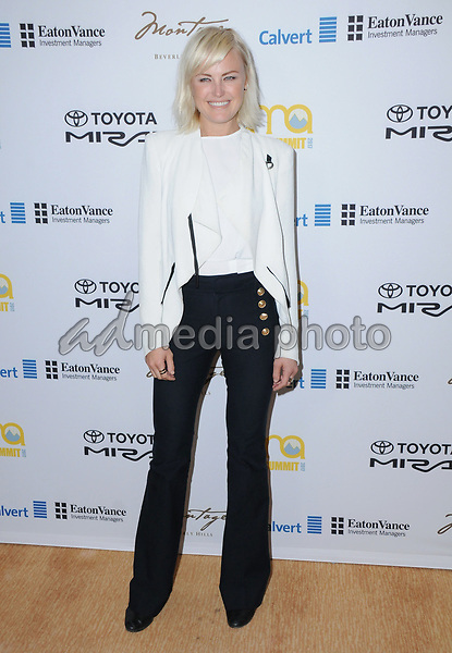 23 March 2017 - Beverly Hills, California - Malin Akerman. Environmental Media Association Hosts The EMA IMPACT Summit held at The Montage Beverly Hills in Beverly Hills. Photo Credit: Birdie Thompson/AdMedia