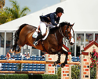 Saskia ridden by Cara Raether,  USEF trials#2 Wellington Florida. 3-22-2012