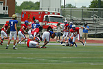 17 June 2017:  Illinois Shriner High School All Stars Football At Tucci Stadium in Bloomington Illinois
