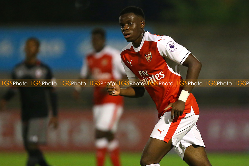Stephy Mavididi of Arsenal during Arsenal Under-23 vs Southampton Under-23, Premier League 2 Football at Meadow Park on 14th October 2016