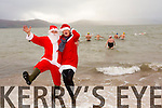 Santa and   Mrs Clause   Launch the  Tralee Bay Swimming club annual Christmas Day swim in aid of Fenit RNLI  on Sunday