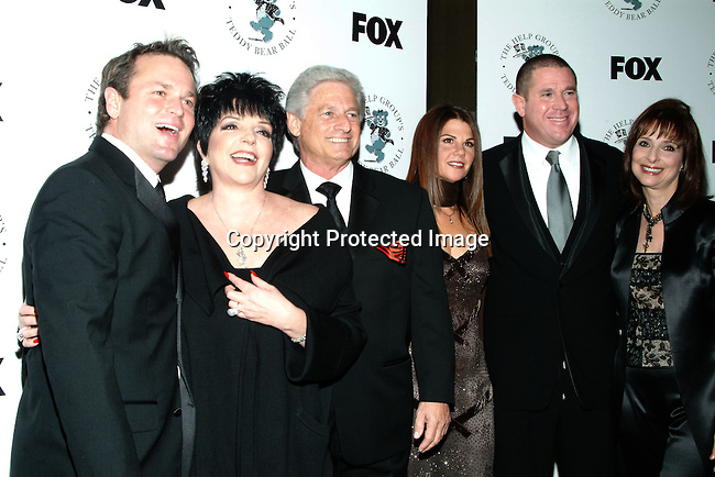 Sam Harris, Liza Minnelli, Haim Saban, Barbara Grushow and Sandy Grushow<br />