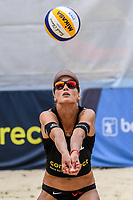 19th July 2020; Dusselldorf, Germany; Comdirect beach volleyball tour;  Anouk Verge-Depre SUI