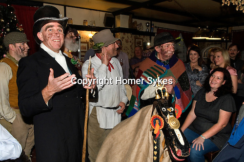 Hooden Horse performance at The Bell Inn,   St Nicohlas-at-Wade, Kent UK 2014.<br />