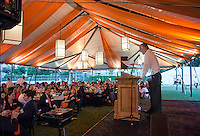 All Class Dinner on Bell Field.<br />