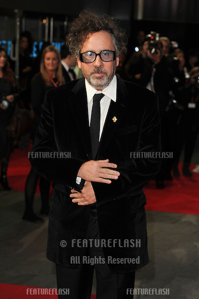 Tim Burton at the premiere for 'Frankenweenie' being shown as part of the London Film Festival 2012, London. 10/10/2012 Picture by: Steve Vas / Featureflash