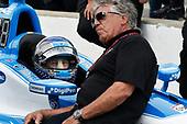 Verizon IndyCar Series<br /> Indianapolis 500 Qualifying<br /> Indianapolis Motor Speedway, Indianapolis, IN USA<br /> Saturday 20 May 2017<br /> Marco Andretti, Andretti Autosport with Yarrow Honda, Mario Andretti<br /> World Copyright: Scott R LePage<br /> LAT Images<br /> ref: Digital Image lepage-170520-indy-2490