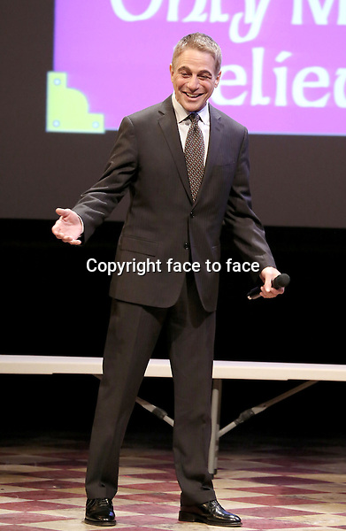 Tony Danza performing at the 14th Annual 'Only Make Believe' Gala at the Bernard B. Jacobs Theatre on November 4, 2013 in New York City.<br /> Credit: McBride/face to face