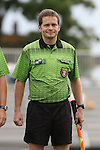06 September 2015: Assistant Referee Benjamin Wooten. The Duke University Blue Devils hosted the University of California Bears at Koskinen Stadium in Durham, NC in a 2015 NCAA Division I Women's Soccer match. California won the game 3-1.