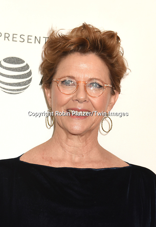 "Annette Bening attends ""The Seagull"" Screening at the Tribecca Film Festival at BMCC on April 21, 2018 in New York City, New York, USA.<br /> <br /> photo by Robin Platzer/Twin Images<br />  <br /> phone number 212-935-0770"