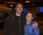 "Greg and Callie McCartney attend the screening of Warren Miller's film ""Line of Descent"" at the Reno Ballroom on Saturday, Nov. 4, 2017 in downtown Reno."