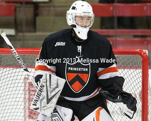 Kimberly Newell (Princeton - 33) - The Harvard University Crimson defeated the visiting Princeton University Tigers 4-0 on Saturday, October 26, 2013, at Bright-Landry Hockey Center in Cambridge, Massachusetts.