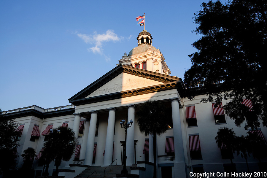 TALLAHASSEE, FLA.10/11/10-OLDCAPITOL 101110 CH02-Florida's Old Capitol building as seen from the courtyard in Tallahassee...COLIN HACKLEY PHOTO