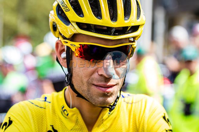 Vincenzo Nibali, Astana Pro Team, at the start,Tour de France, Stage 21: Évry > Paris Champs-Élysées, UCI WorldTour, 2.UWT, Évry, France, 27th July 2014, Photo by Thomas van Bracht