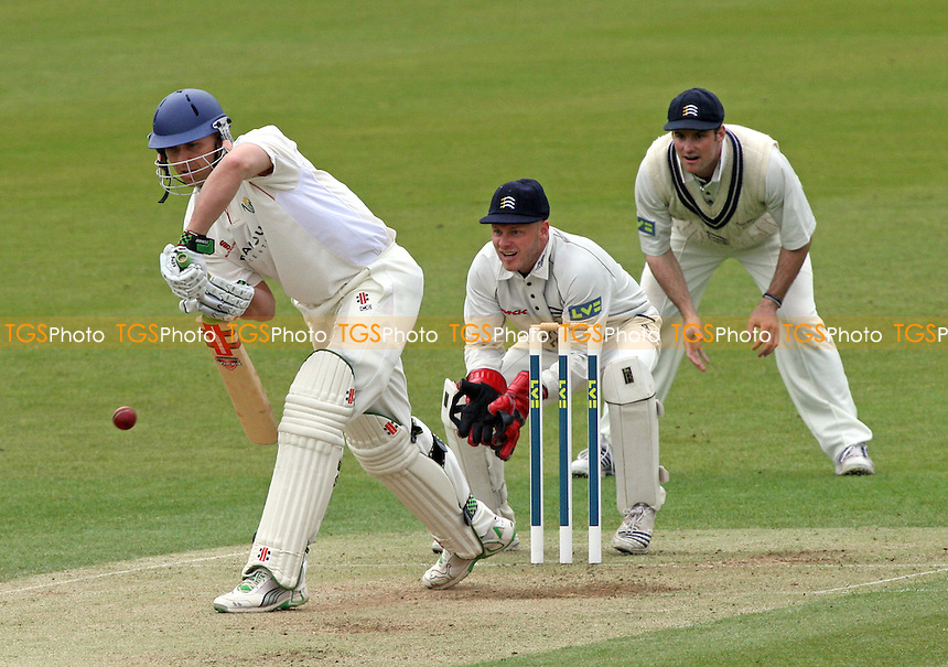Alex Wharf in batting action for Glamorgan - Middlesex CCC vs Glamorgan CCC - LV County Championship Cricket at Lord's Ground - 25/04/08 - MANDATORY CREDIT: Gavin Ellis/TGSPHOTO - Self billing applies where appropriate - Tel: 0845 094 6026