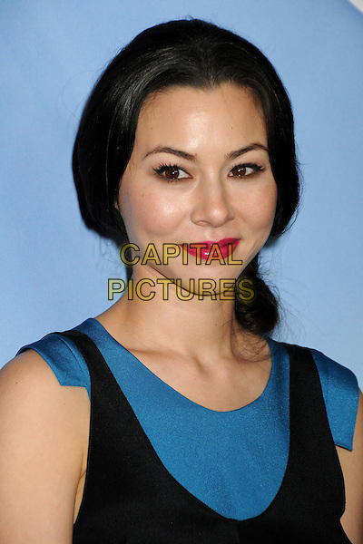 CHINA CHOW .NBC Universal Press Tour Cocktail Party held at the Langham Hotel, Pasadena, California, USA, 10th January 2010..portrait headshot black blue pink lipstick make-up .CAP/ADM/BP.©Byron Purvis/AdMedia/Capital Pictures.