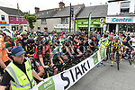 The start stage 8 of An Rás 2017. Photo:Colin Bell/pressphotos.ie