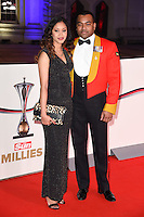 Johnson Beharry<br /> at the Millies 2016, Guildhall, London.<br /> <br /> <br /> &copy;Ash Knotek  D3212  14/12/2016