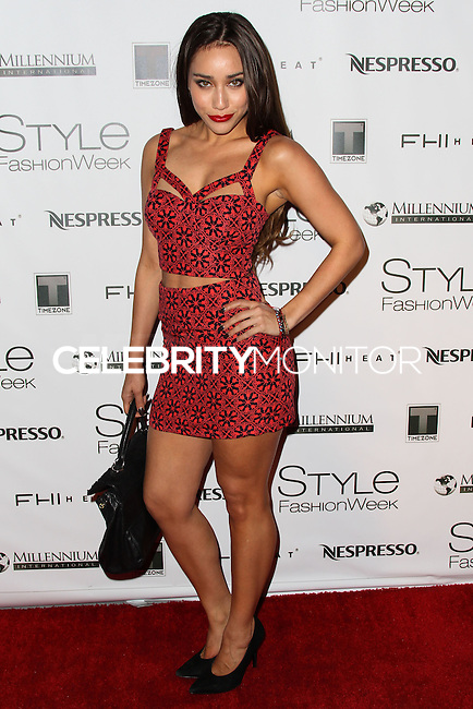 LOS ANGELES, CA, USA - MARCH 10: Korrina Rico at the Style Fashion Week LA 2014 7th Season held at L.A. Live Event Deck on March 10, 2014 in Los Angeles, California, United States. (Photo by Xavier Collin/Celebrity Monitor)