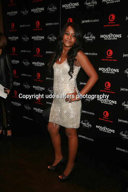Bobbi Kristina Brown Attends The Houstons: On Our Own premiere party celebrating the launch of the new Lifetime docuseries held at Tribeca Grand Hotel, NY   10/22/12